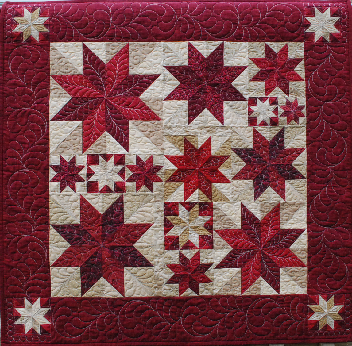 North Star Longarm Quilting ? Longarm quilting services and learning.